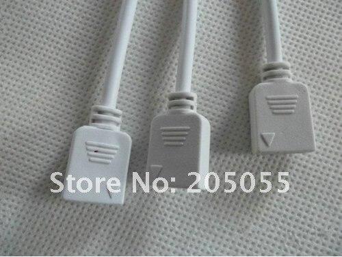 1-3 гнездовой разъем для подключения 3 шт SMD 5050 3528 RGB светодиодные полосы света