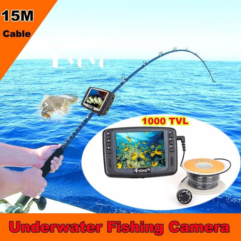 Sale free shipping 1000tvl underwater ice fishing camera for Utah fish finder