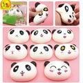 2016 New Brand Jumbo kawaii Panda Squishy Charms Buns Bread Cell Phone Key/Bag Strap Pendant Squishes kid Toys Cake