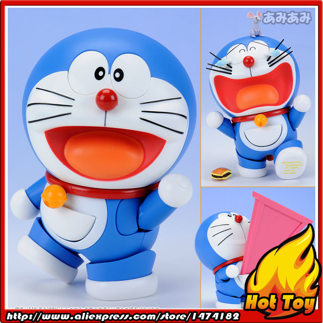 100% Original BANDAI Tamashii Nations Robot Spirits No.103 Action Figure - Doraemon from