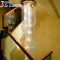 Подвесная Светодиодная лампа ZYY  K9  из нержавеющей стали  110-240 В