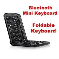 Bluetooth Foldable Mini Keyboard For Mobile Phone Tablet Pad Laptop Smart TV White Black Portable Keypad
