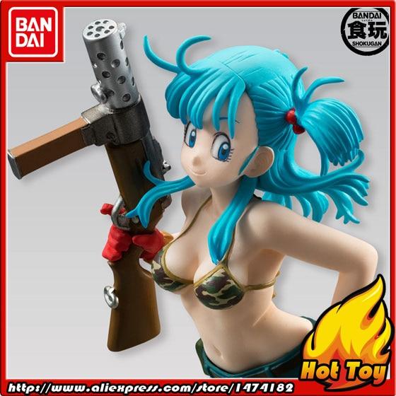 100% Original BANDAI STYLING PVC Toy Figure - Bulma from Dragon Ball original 100