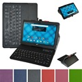 "New Soft Removable Bluetooth Keyboard PU Leather Case Cover For 10.1"" Acer Iconia One 10 B3-A10 Tablet"
