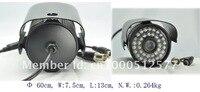 """бесплатная доставка 1/3 """" CCD Сони effio-е экс-просмотр 650-700 ТВЛ 6 мм серебро водонепроницаемый камеры безопасности widows 50 м номера вид"""