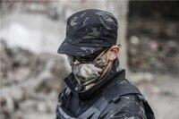 Mcbk Rip Stop patrulla Cap Multicam negro para el ejército Pilice Outdoor trainning