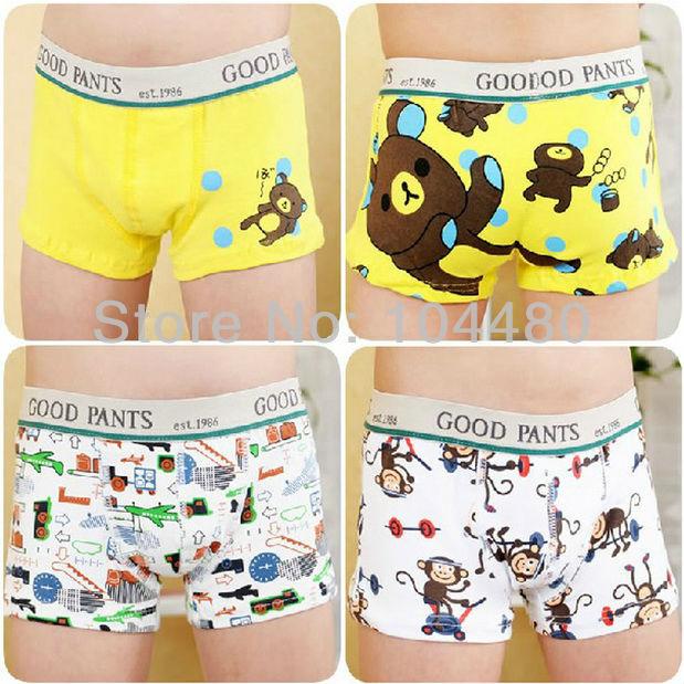 03cfe8e2f4f1 Niños bebés ropa interior de algodón todder bebé niños bragas calzoncillos  boxer briefs niños niños moda