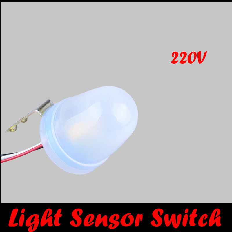 New Outdoor Automatic Light Sensor Switch Photocell Sensor Photo Electric Proximity Sensor Switch For Led Lights