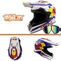Лучшие продажи дизайн Моды мотоциклетный шлем внедорожные шлемы Dirtbike ATV горные гонки мотокросс capacete бесплатная очки