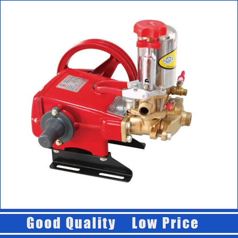 Cast Iron Agricultural Insecticide Spray Pump High Pressure Pump 14-22L/min Plunger Pump 220v cast iron self suction centrifugal pump home use booster pump 1zdb 45