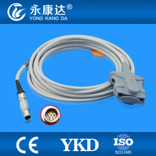 Critikon Dinamap 8710 Adult Soft Tip  spo2 sensor, metal 7pins