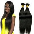 Guangzhou Ali Queen Hair Products Malaysian Virgin Cabello Liso 3 Bundles Pelo Malasio sin procesar 7a Malasio de la virgen Del Pelo