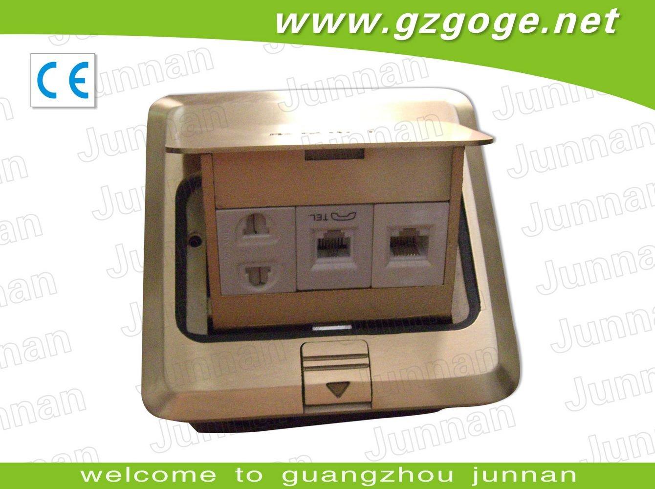 junnan водонепроницаемый минимальный уровень электрическая Rosetta с золото и серебро цветов