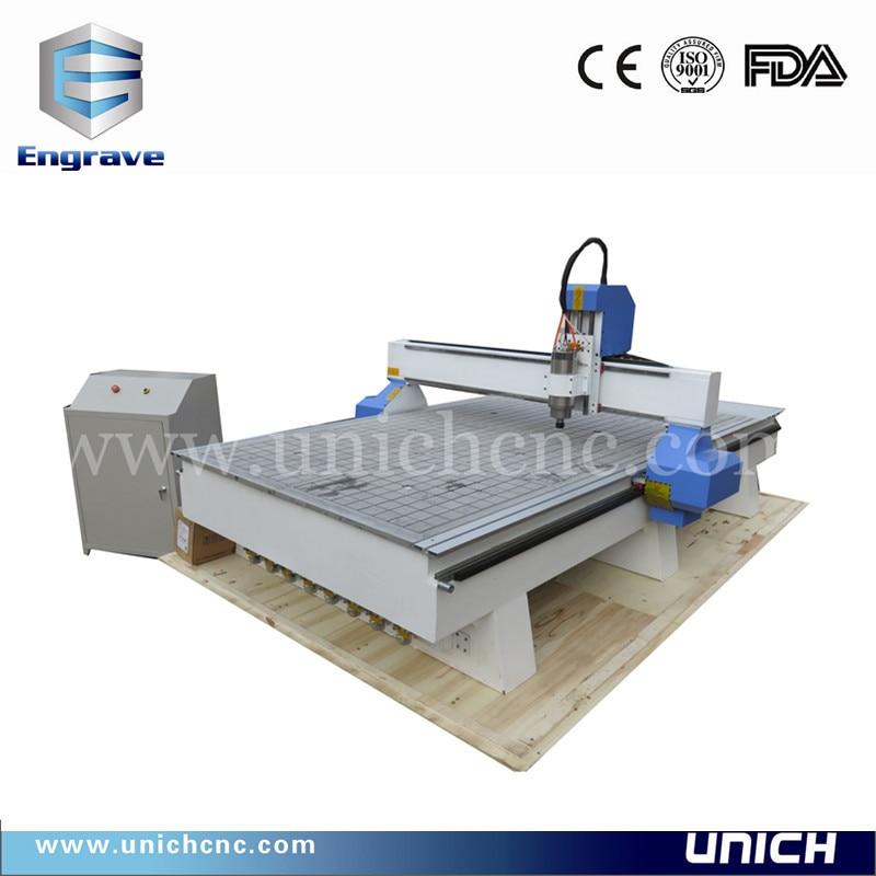 Metal acrylic plywood cnc cutting machine gold