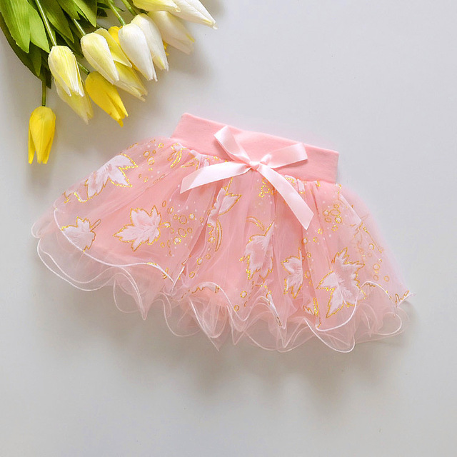 2018 Baby girls lace skirt  three color cake tutu girls skirts saia ballet skirt fantasia free shipping