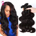 Ms Cat Hair Malaysia Virgin Hair Body Wave 4pc/lot 8-28inch Natural Black Human Hair Weave Malaysian Body Wave Fast Shipping
