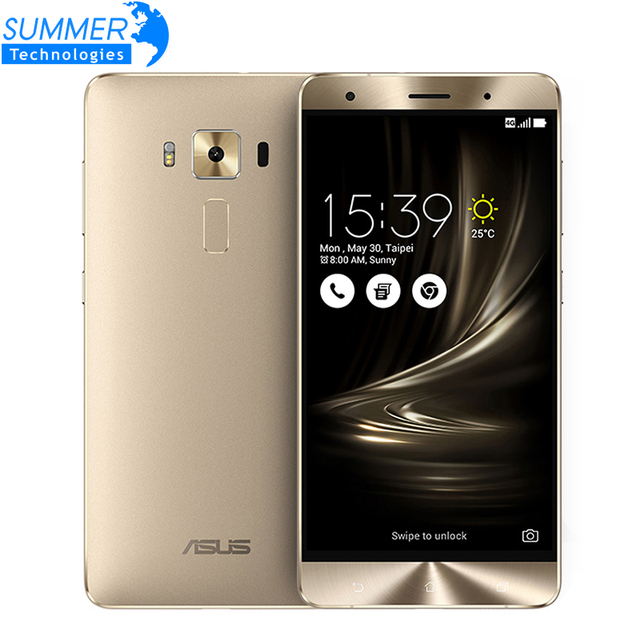 Original asus zenfone 3 deluxe zs550kl android 6.0 5.5 ''fhd snapdragon 625 octa core 4g ram 64g rom 16mp smartphone