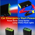 Top 12V Emergency Car Jump Starter Battery Charger For Petorl / Diesel Engine Multi-function Mobile Phone Power Bank