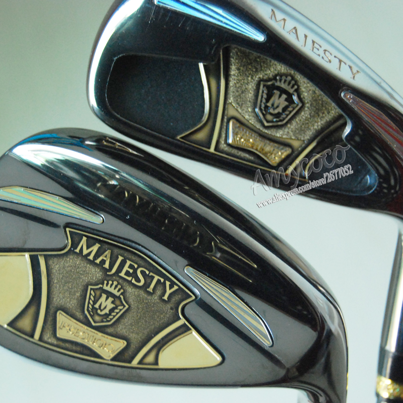 Nye Cooyute Golf Clubs Maruman majesty super 7 Golf Irons sett 4-9.P.AS Irons klubber med Graphite Golf shaft R eller S Gratis frakt