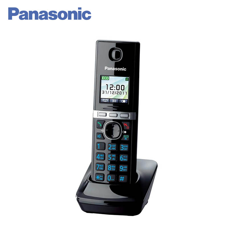 Panasonic KX-TGA806RUB Additional handset, Telephone directory for 50 entries, Incoming Call Log in the 10 records panasonic kx tg2512ru2 dect phone additional handset included eco mode time date display communication between handsets
