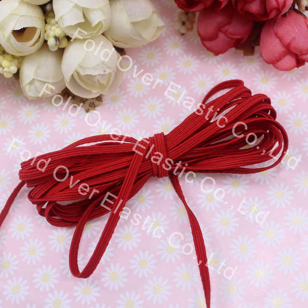 Polyester Sewing Headband Headwear Decor Bundling Strap Ribbon Roll 4cm Width