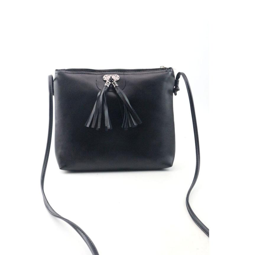 women messenger bags Fashion Tassel Mini Handbag Shoulder shopping Bag high quality bolsa feminina top brand bolsos#5
