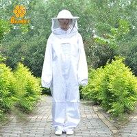 Nghề nuôi ong Jacket Mạng Che Bộ Ngụy Trang Chống-bee An Toàn Bảo Vệ Quần Áo Smock Thiết Bị Nguồn Cung Cấp Nuôi Ong Phù Hợp Với Coverallls