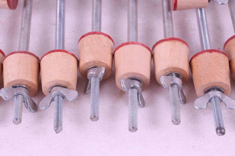 Инструменты для ремонта струнных инструментов, 45 шт виолончель зажим для фиксации верхней части и задней части# Q62 Виолончель зажим