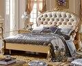 Queen size 1.5 m estilo antiguo alta calidad cama A09