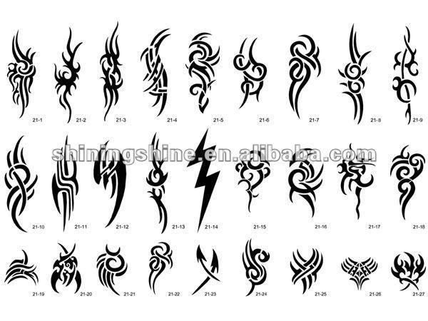 Como Hacer Una Plantilla De Tatuaje Sfb
