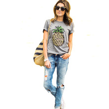 Women Casual  Summer Tops Tee  Short Sleeve T-Shirt