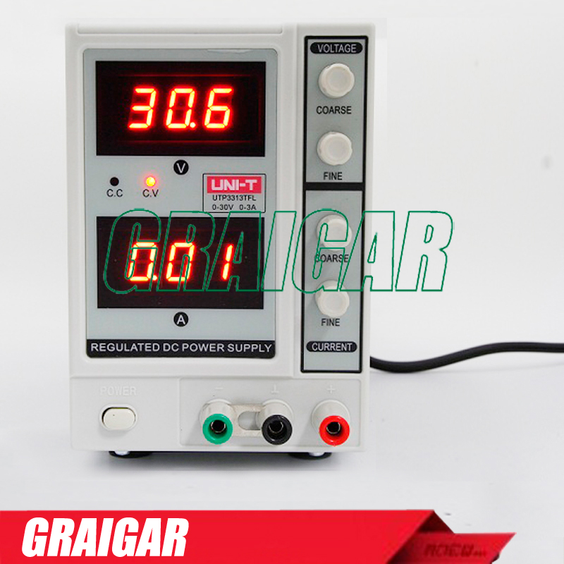 UNI-T UTP3313TFL DC Power Supply Constant Voltage Current Function 30V 3A Power Source dc power supply uni trend utp3704 i ii iii lines 0 32v dc power supply