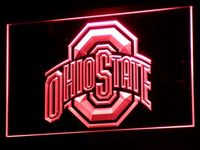 B256 Ohio State Neon Sign With On Off Switch 7 Colors To Choose