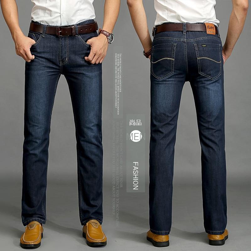 Men winter jeans Classic Brand men's trousers SU LEE jeans