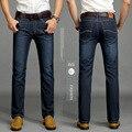 Hombres de invierno pantalones vaqueros de los hombres Clásicos A Estrenar SU LEE jeans hombres de Gran tamaño Pantalones de la manera Simple de robin de los hombres pantalones