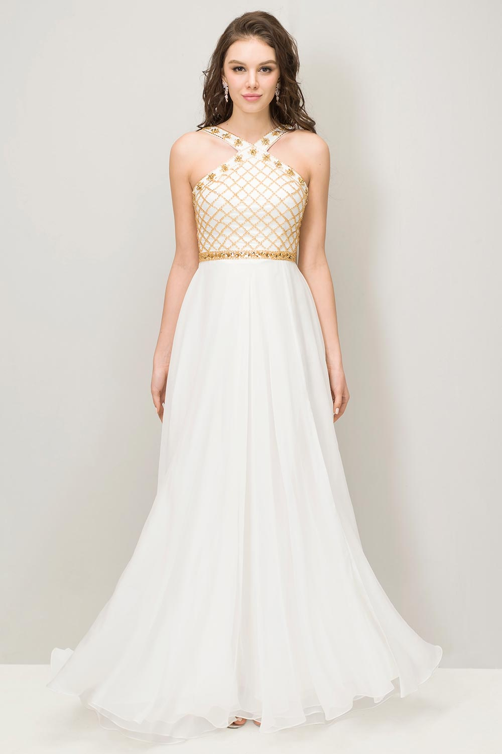 Online Buy Wholesale ivory prom dress from China ivory prom dress ...
