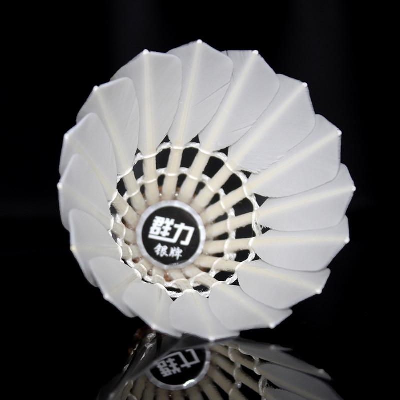 Kunli badmintonshuttles KL-Silver Hoogwaardige Cigu duck feather - Sportrackets - Foto 4