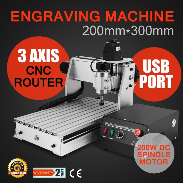 3020T DRILLING/ MILLING MACHINE UPGRATED 220/110VAC CNC ROUTER ENGRAVER ENGRAVING 3 AXIS