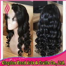 Real virgin human hair wigs loose wave glueless full lace wigs malaysian front lace human hair wigs 130%density