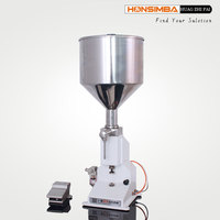 Perfume Reagent Chemical Fluid Fragrance Water Soft Drinks Fluid Pneumatic Filling Machine