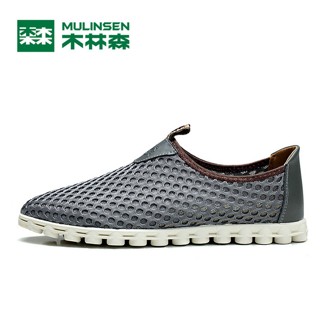 2017 summer MULINSEN classical running shoes men athletic shoes,brand sport shoes Outdoor Walking Sneakers