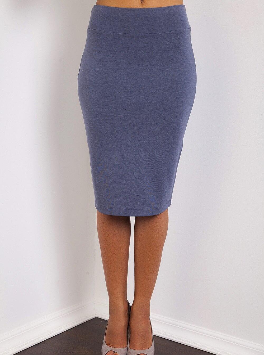 Обтягивающие юбки до колена фото