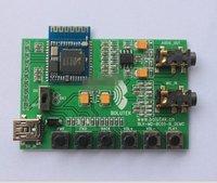 бесплатная доставка, поддержка bluetooth стерео аудио модуль адаптер поддерживает профиль A2DP громкой связи