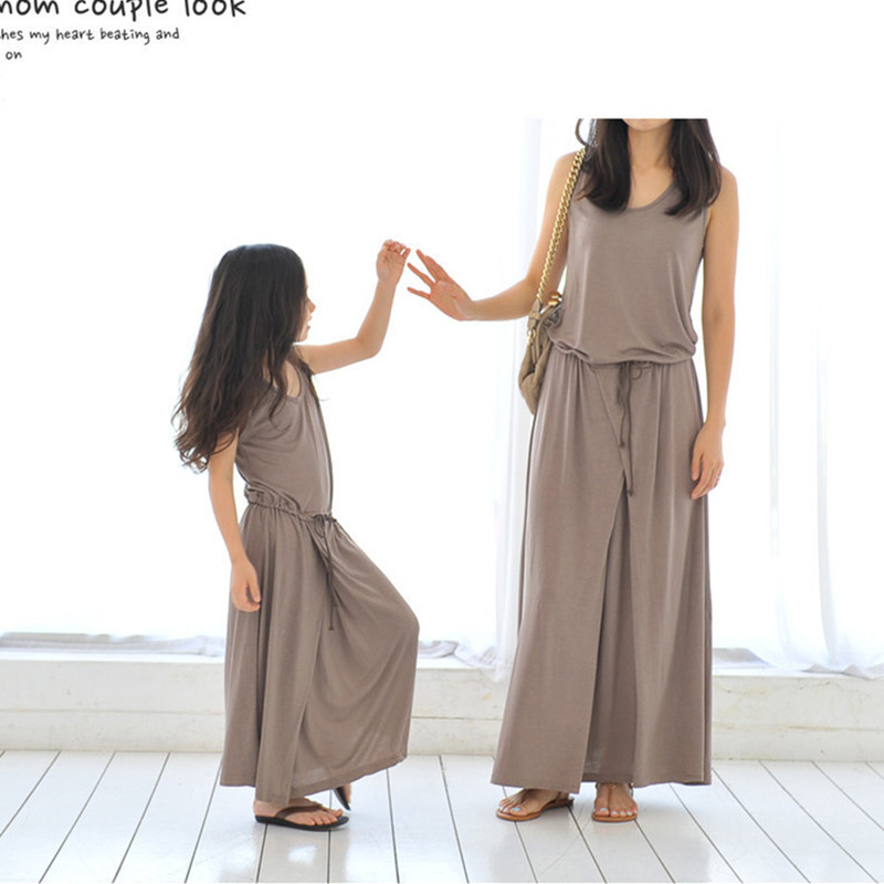 Φ Φ2017 d été correspondant mère fille vêtements robes femmes filles ... 327fcf00dcd