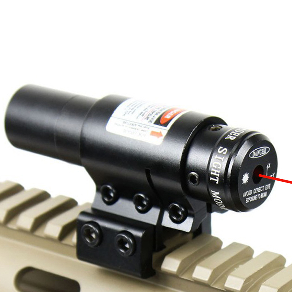 Red Dot Laser Sight Scope Tactical con soporte para pistola Picatinny - Caza