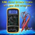 La alta Calidad de Mano Cuenta Con Medición de la Temperatura del LCD Digital Multímetro Tester XL830L Sin Batería