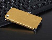 бесплатная доставка а + качество utrathin 0.3 мм последние титановый сплав металлический чехол для айфон 4 G и 4S бампер