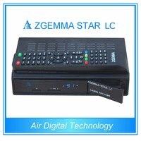 2 unids/lote Nueva WorldWide Zgemma Estrellas LC FTA HD Receptor de Satélite Linux OS Actualizado E2 DVB-C Un Sintonizador Con Softwares de Canales completa