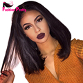 Grade 10A Hot Short Bob Cut Wigs Glueless Virgin Brazilian Short Full Lace Human Hair Wigs Bob Lace Front Wig for Black Women