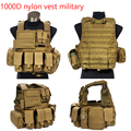 Real military-vests MOLLE combat tactical CIRAS quick release removable 1000D oxford safety carrier vest MC LAND Edition TK.